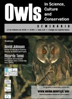 Seminário: Owls in Science, Culture and Conservation