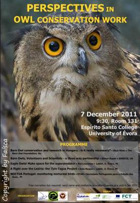 Workshop Perspectives in Owl Conservation Work