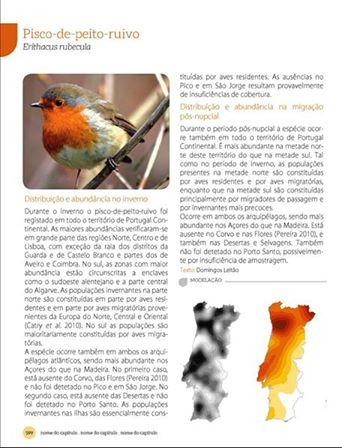 COMEÇOU A CONTAGEM DECRESCENTE PARA O LANÇAMENTO DO Atlas das Aves Invernantes e Migradoras de Portugal