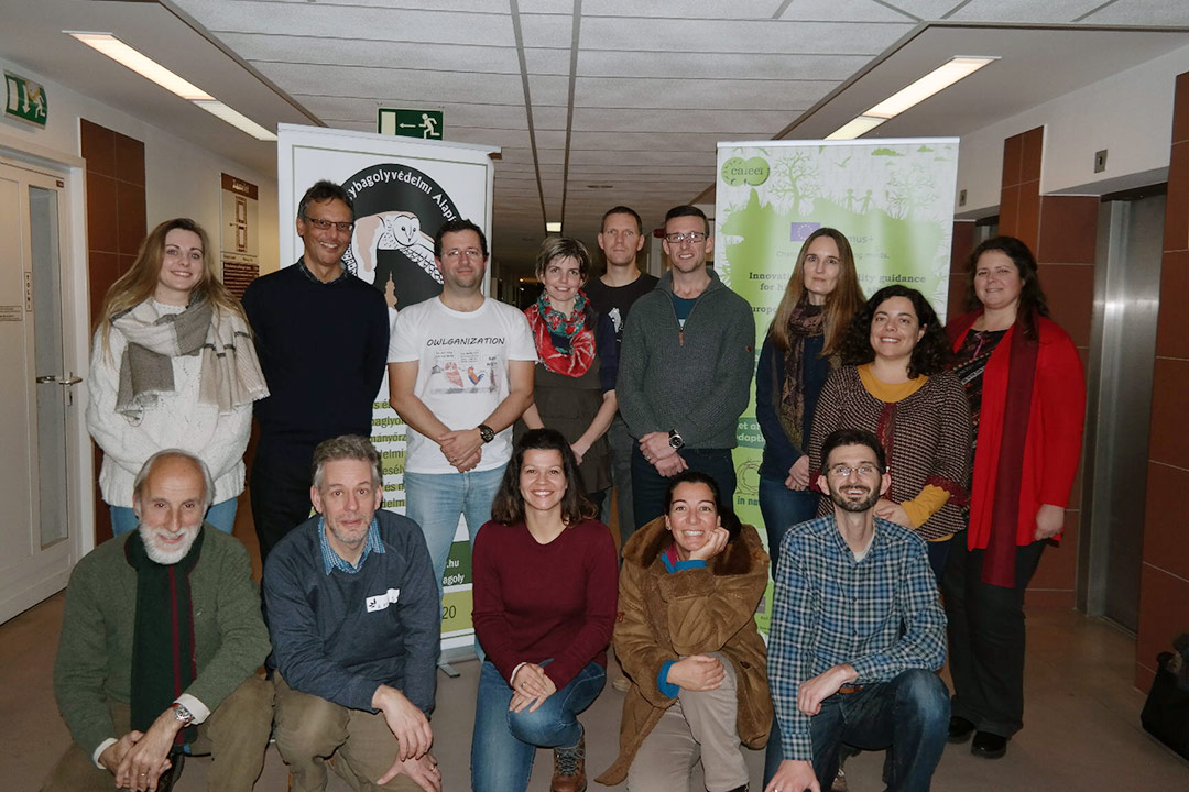 Reunião final do Projecto Careers in Nature Conservation