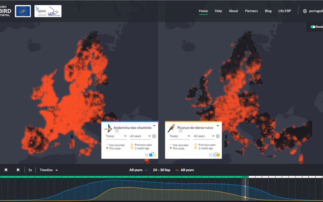 EuroBirdPortal releases new improved version of its online viewer